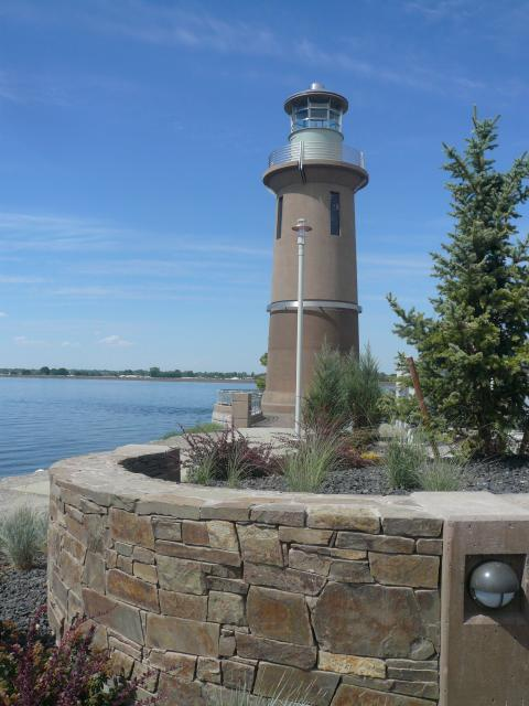 Clover Island Lighthouse, Kennewick, WA