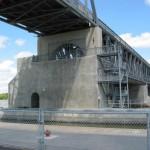 Lockport Bridge & Office, Manitoba, Canada